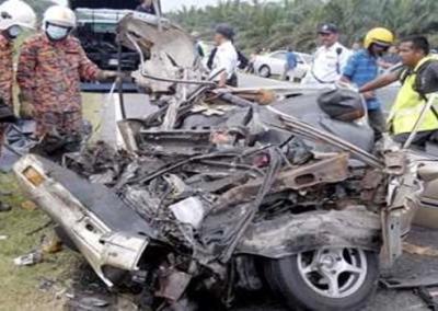 Kemalangan-Jalan Sidam Kiri-Padang Serai