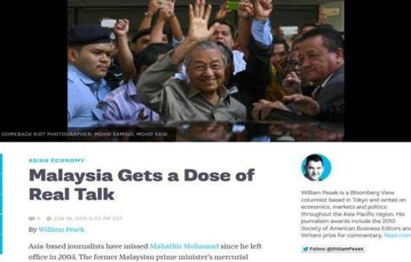bloomberg-Malaysia Gets a Dose of Real Talk