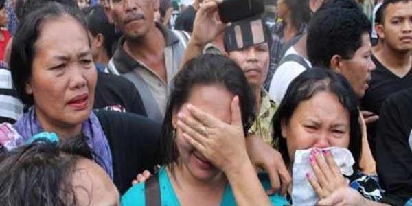 Keluarga korban berada di Rumah Sakit Adam Malik, Medan