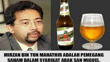 Syarikat arak milik anak Mahathir San Miguel mengintai peluang membeli penjualan aset negara