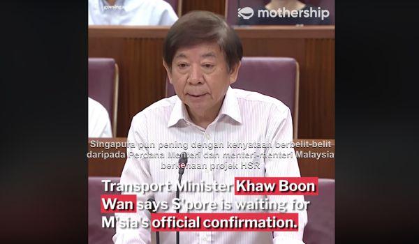 Singapura pun pening dengan kenyataan berbelit-belit daripada Perdana Menteri dan menteri-menteri Malaysia berkenaan projek HSR