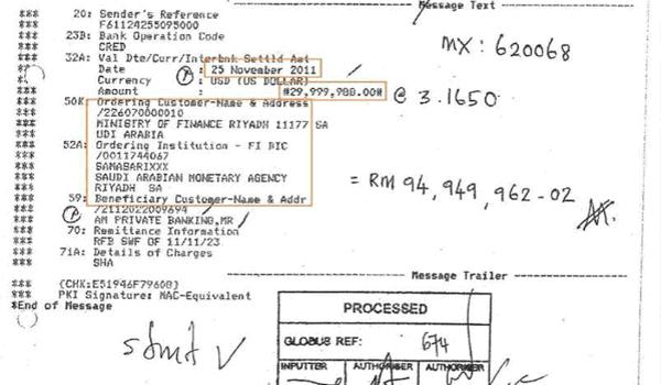 RM2.6 bilion: Lim Kit Siang meroyan dengan pendedahan Najib