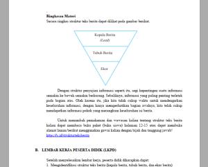 Modul Pendukung PJJ Bahasa Indonesia SMP MTs Kelas 8