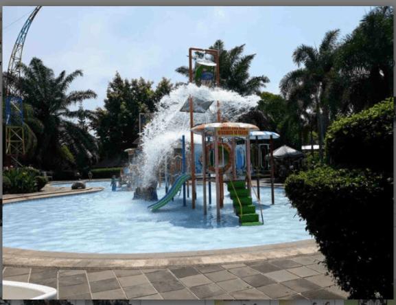 The Fountain Water Park dan Resto Ungaran Kabupaten Semarang Jateng