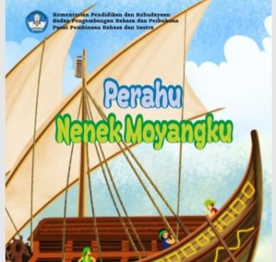 "Buku Cerita Digital Untuk Anak SD MI : ""Perahu Nenek Moyangku"""