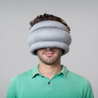 Ostrich Pillow resekudde ögonskydd