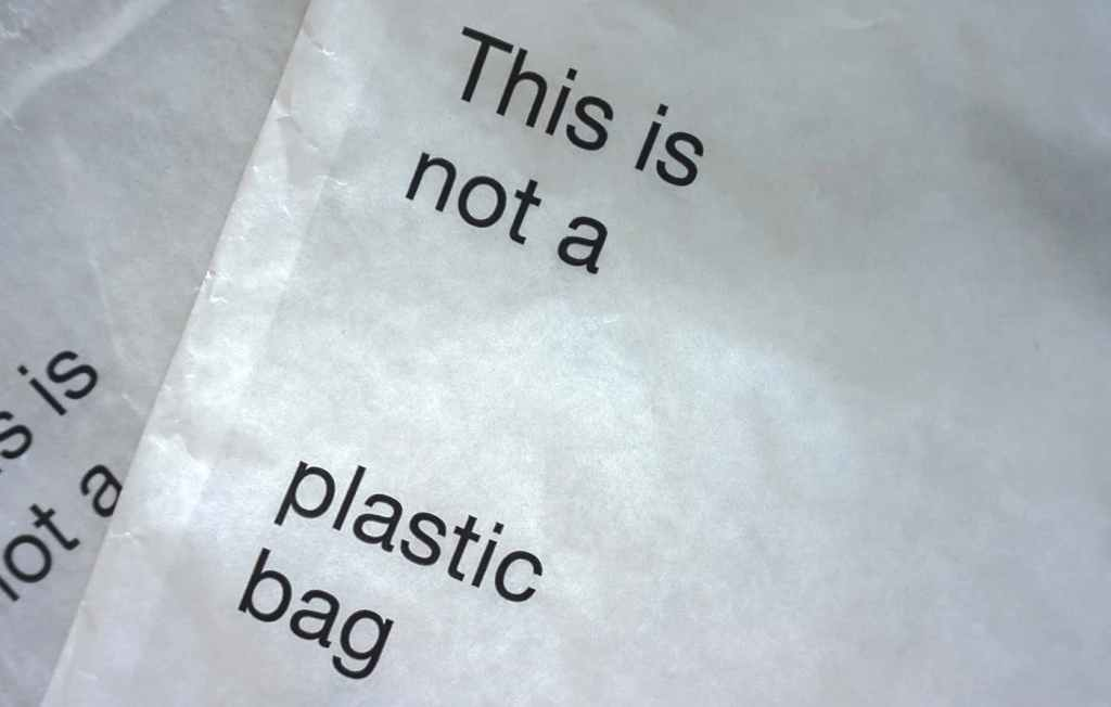 Example of non plastic packaging