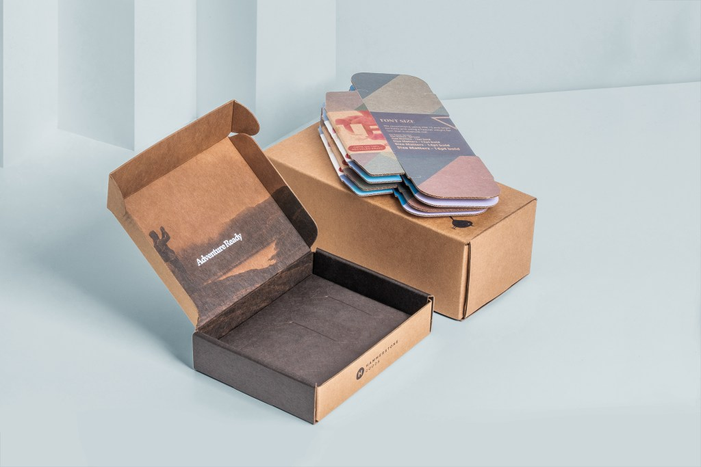 Example of shippable packaging