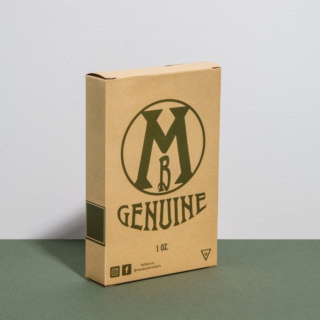 Example of eco-friendly carton packaging