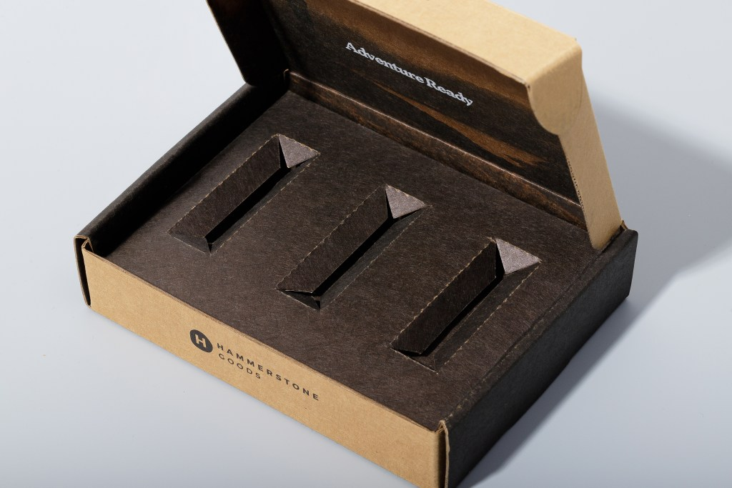 Example of monomaterial packaging