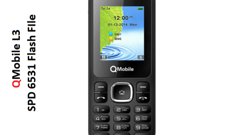 QMobile L3 flash file