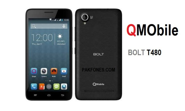 QMobile Bolt T480 Read Unlock Pattern without Data Loss