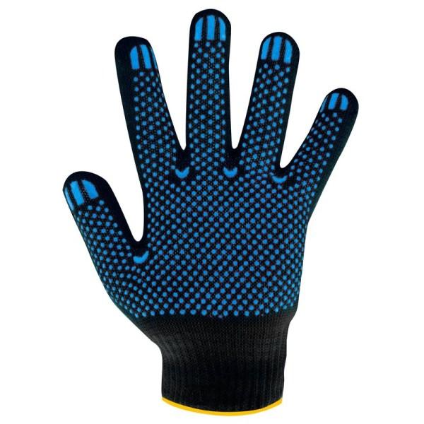 Перчатки вязаные п/шерстяные с ПВХ 6 нитей (зима)