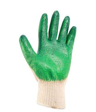 Перчатки с латексным (один.) покрытием