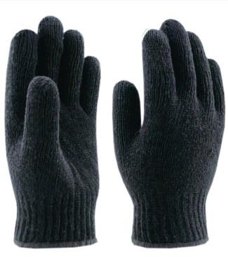 Перчатки вязаные п/шерстяные без ПВХ 7 нитей (зима)