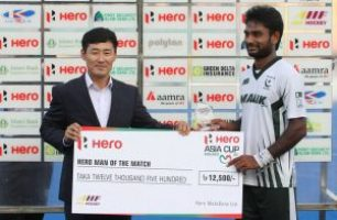 Ajaz Ahmed's Hat Trick as Pakistan defeats South Korea 6-3 to finish 3rd