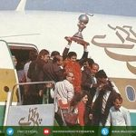 (1982)third World Cup title Pakistan hockey squad brings home