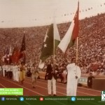 1984 Pakistani Flag hostler Manzoor junior won gold medal at Los Angeles Olympics, USA