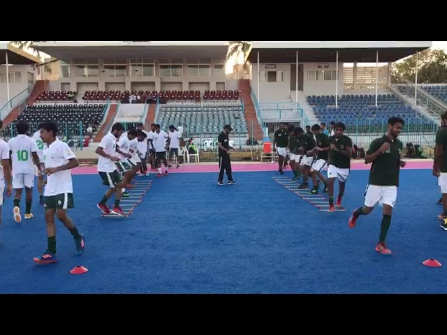 team Practice Hockey Karachi Camp