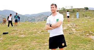 Daniel Barry Fitness coach pakistan Hockey Team (physical Trainer)