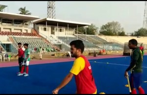 team Practice Hockey Karachi