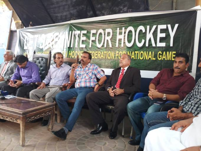 Hockey Olympian Press Conference