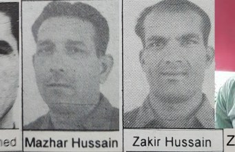 Informed sources said that families of Olympians Ashfaq Ahmed, Zakir Hussain and Mazhar were facing severe financial difficulties. Ashfaq and Mazhar have passed away.