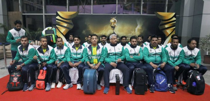 Pakistan hockey team has arrived in India for Men's Hockey World Cup 2018, to be started from Wednesday in Bhubaneswar. A total of 16 teams are participating in the tournament. Pakistan is placed in Pool D and will play its first match on 1st of next month.