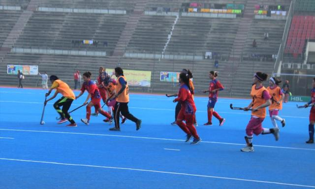 Nepal vs Punjab Junior Selection