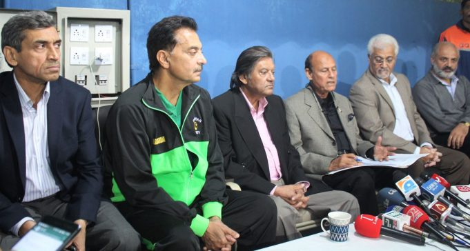 Pakistan's World Cup Squad Announced2