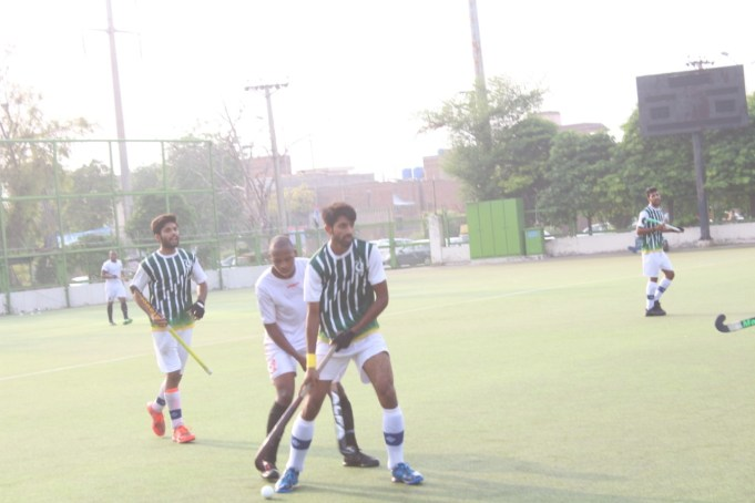 Pakistan Development Squad displayed excellent hockey skills and techniques to outsmart Oman hockey team 4-0 in the third match of the four-match test series at Johar Town Hockey Stadium here on Friday.