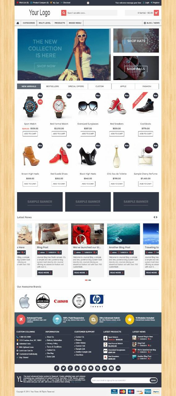 Pakish E-Commerce Sample 5