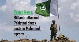 Militants attack on Pakistani check posts