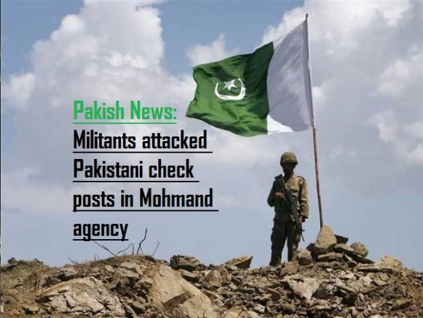 Militants attack on Pakistani check posts
