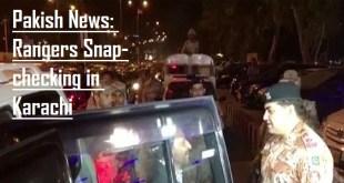 Rangers stops Farooq Sattar's car in Karachi