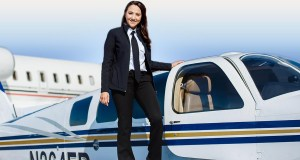Female pilot began journey around world3
