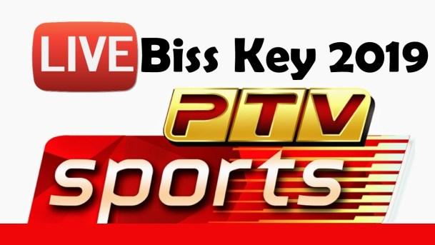 PTV Sports Biss Key World Cup 2019  [Pak v Ind on Paksat Latest and