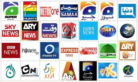Pakistan DTH Channels List
