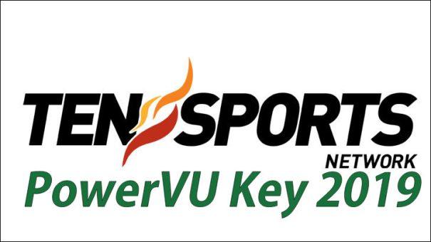 TEN Sports Power VU Key 2019