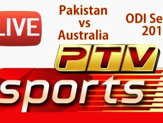 PTV Sports Broadcast Pakistan vs Australia 2019 ODI