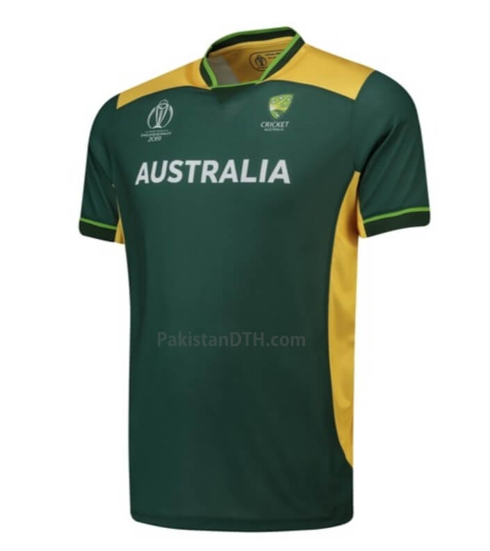 Australia Kit for Cricket World Cup 2019