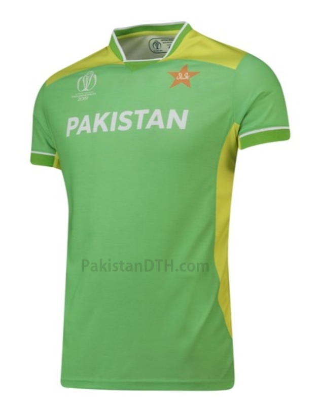 Pakistan Kit for Cricket World Cup 2019