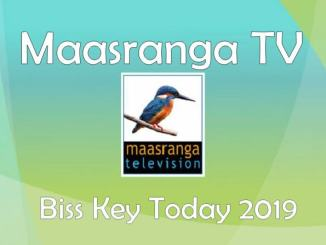 Maasranga TV Biss key Today 2019