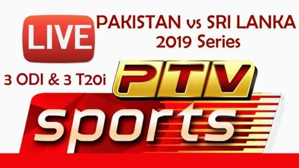 Pakistan vs Sri Lanka PTV Sports Live Link