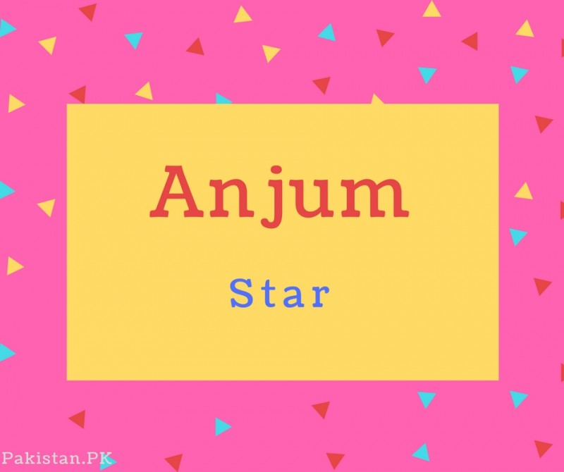What Is Anjum Name Meaning In Urdu Anjum Meaning Is