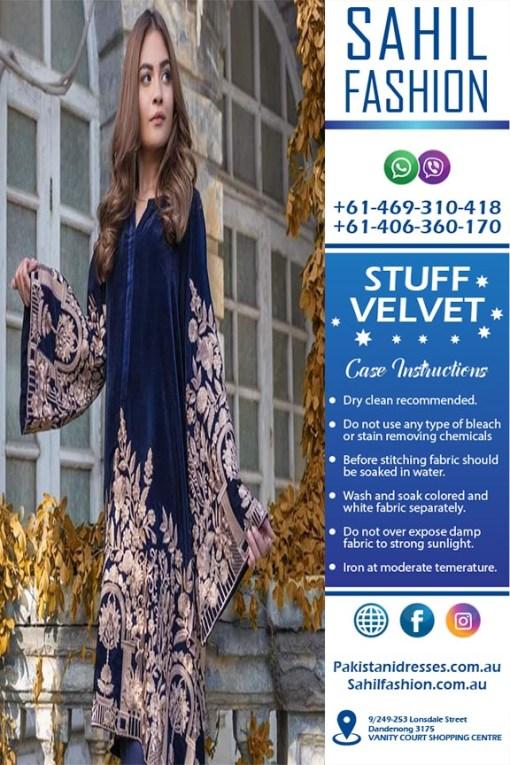 Agha Noor Velvet Collection