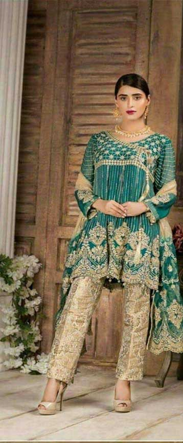Pakistani Party Dresses 2019