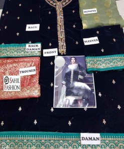 Annus abrar latest velvet collection