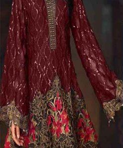 Baroque Winter Dresses for Women