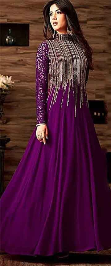 Latest indian maxi collection